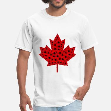 Poppy Poppy Leaf.png - Men's T-Shirt