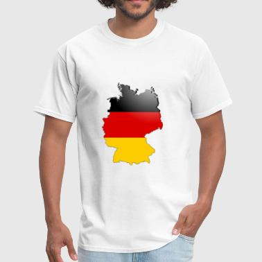Germany Map Germany Map - Men's T-Shirt