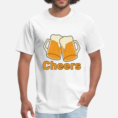 Cheer Quotes cheers - Men's T-Shirt