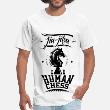 Jiu Jitsu Human Chess B - Men's T-Shirt