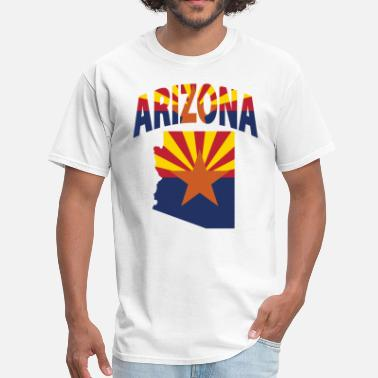 Arizona Flag Arizona Flag Map T-Shirt - Men's T-Shirt