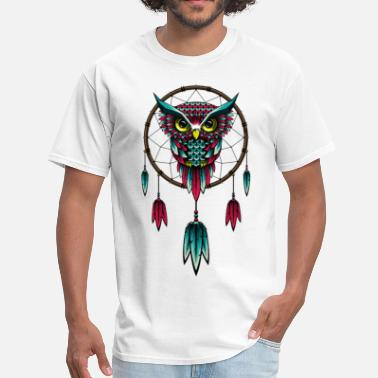 Owl Dream Owl Dream Catcher - Men's T-Shirt