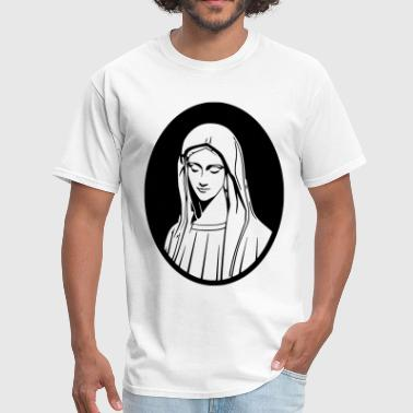 God Mother Mary Mother Of God - Men's T-Shirt