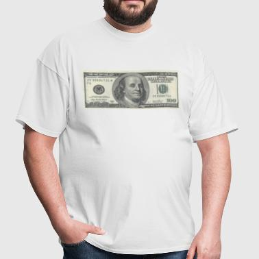 One Hundred Dollars Bill - Men's T-Shirt
