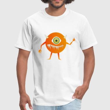 Yellow Monster With One Eye - Men's T-Shirt