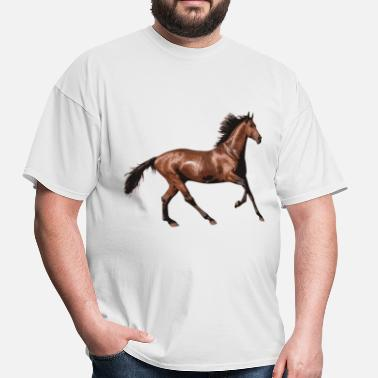 Equestrian Competition Race Horse - Men's T-Shirt
