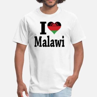 Malawi I Love Malawi Flag t-shirt - Men's T-Shirt