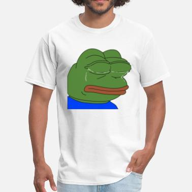 Funny Pepe Crying Pepe - Men's T-Shirt