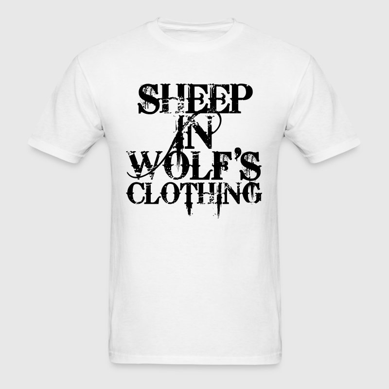 Sheep In Wolf's Clothing - Men's T-Shirt