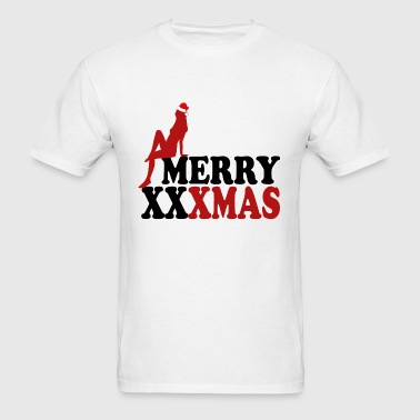 merryxxxmas1 - Men's T-Shirt