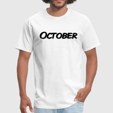 October - Men's T-Shirt