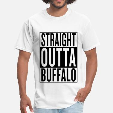 Born In Buffalo Buffalo - Men's T-Shirt