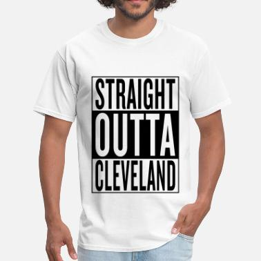 Straight Outta Cleveland Cleveland - Men's T-Shirt