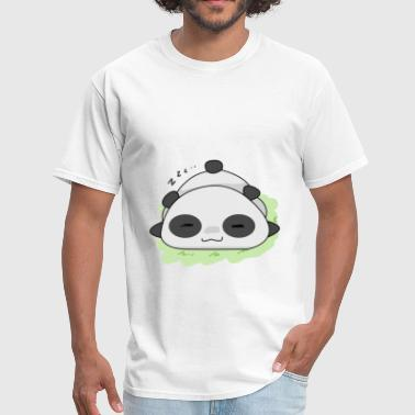 Panda Cute Sleeping Z z z Gift Idea - Men's T-Shirt