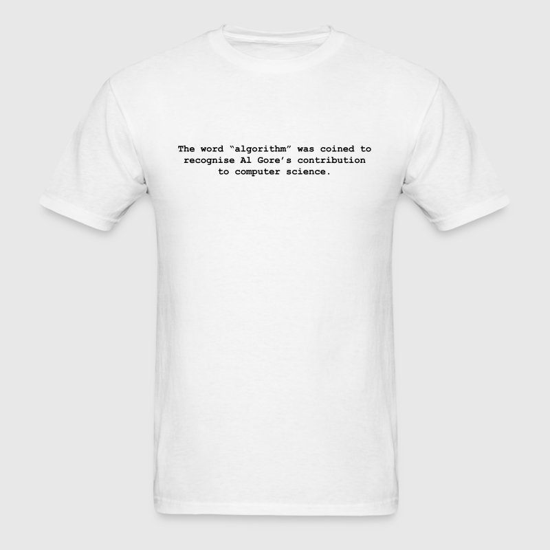 Al Gore Ithm - Men's T-Shirt