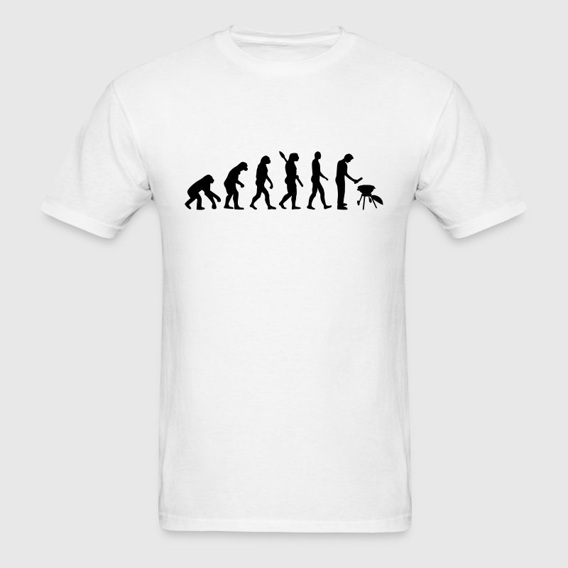 Evolution BBQ - Men's T-Shirt