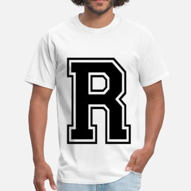 Letters Of The Alphabet Letter R - Men's T-Shirt