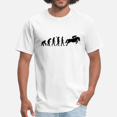 Evolution Horse Show jumping - Men's T-Shirt