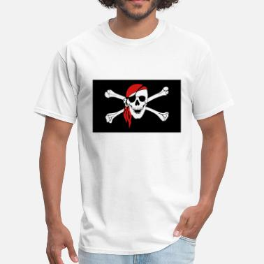 Laurent Laurent Drapeau Pirate - Men's T-Shirt
