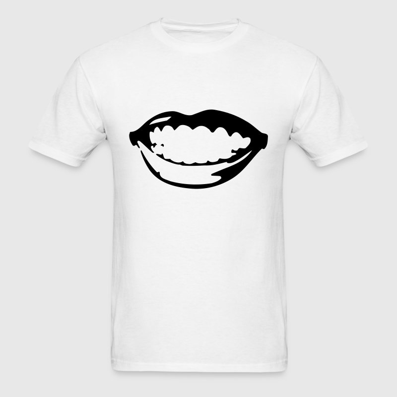 smile mouth - Men's T-Shirt