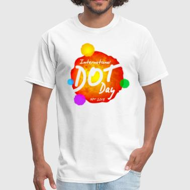 Dot INTERNATIONAL DOT DAY | SEPT. 2018 - Men's T-Shirt