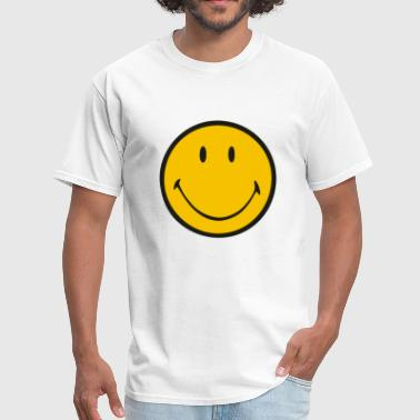 Luke Hemmings Yellow smiley - Men's T-Shirt