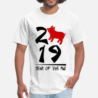 Pig 2019 Year Of The Pig - Men's T-Shirt