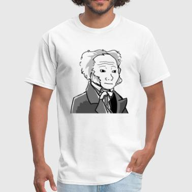 Aristocrat Wojak - Men's T-Shirt