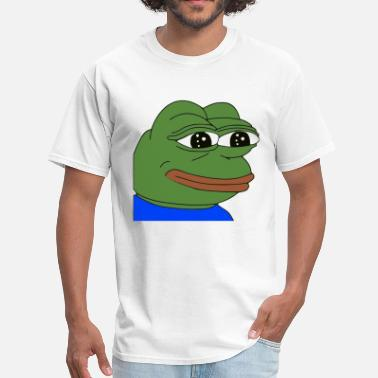 Pepe The Frog Emotional Pepe - Men's T-Shirt