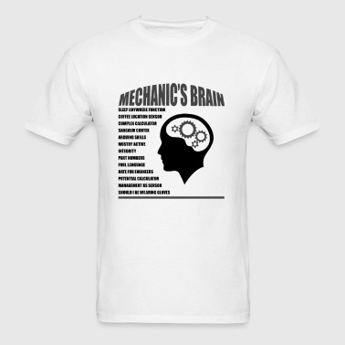 Mechanic's Brain - Men's T-Shirt