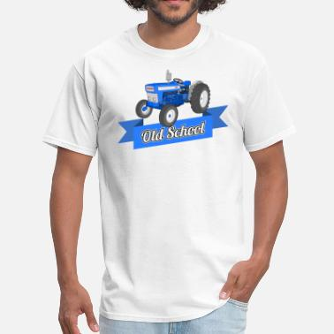 Tractor Old School - Men's T-Shirt