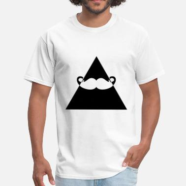 Hipster Triangle Hipster Triangle - Men's T-Shirt