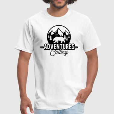 Adventure Wilderness Adventures calling - Wilderness and nature - Men's T-Shirt