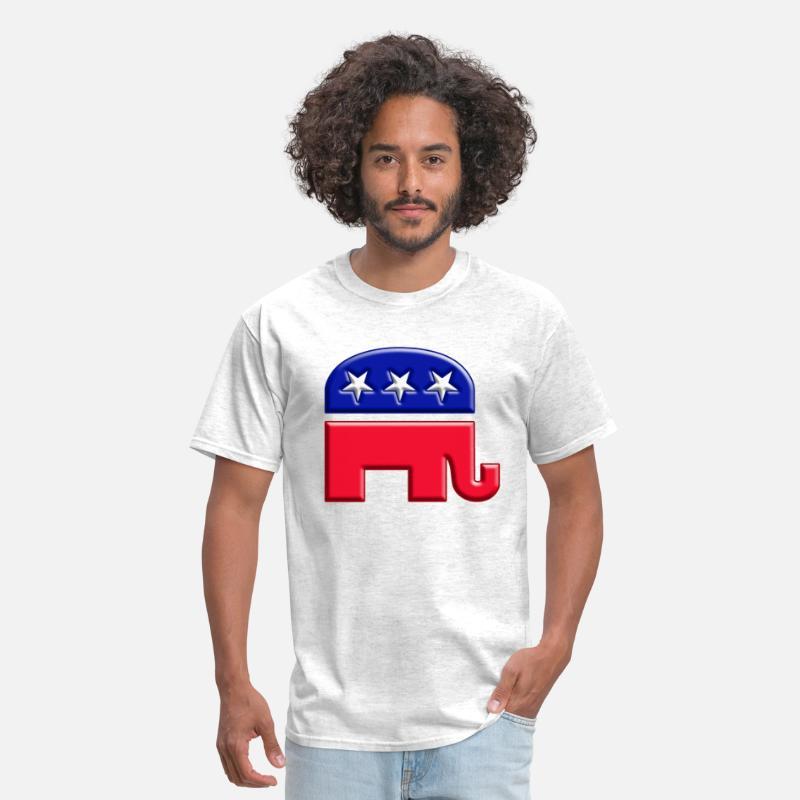 2ecfad7b897121 gop elephant logo Men s T-Shirt