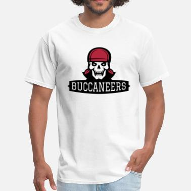 Buccaneers BUCCANEERS Pirate Skull - Men's T-Shirt