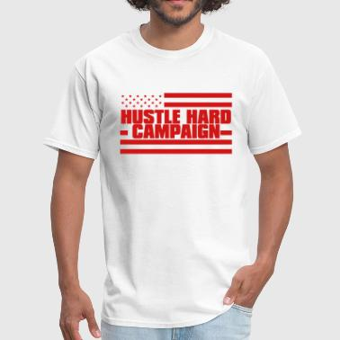 Hustle Hard Campaign CAMPAIGNLOGO (vc) - Men's T-Shirt