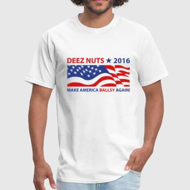 Deez Nuts Flag 2016 - Men's T-Shirt