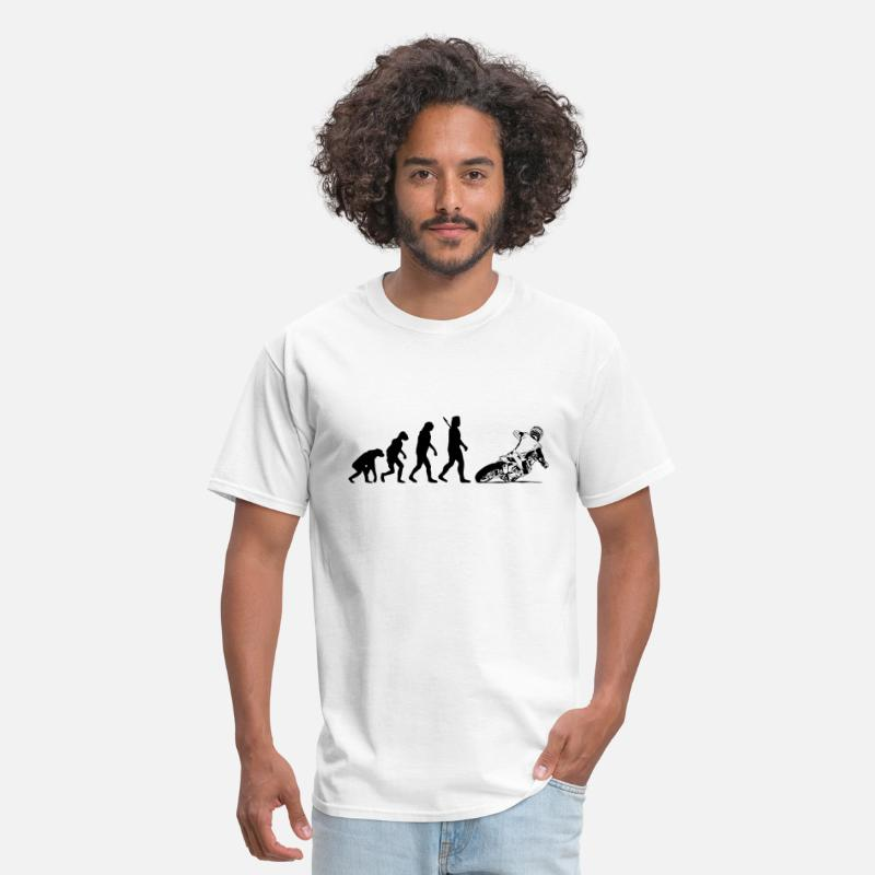 Motocross T-Shirts - Supermoto - Men's T-Shirt white