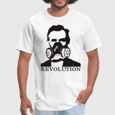 Soros Abraham Lincoln Revolution - Men's T-Shirt