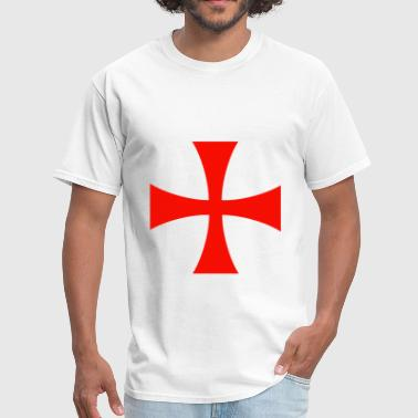 Knights Templar Cross - Men's T-Shirt
