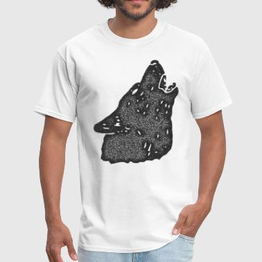 Wolf Eyes Retro Vintage Wolf - Men's T-Shirt