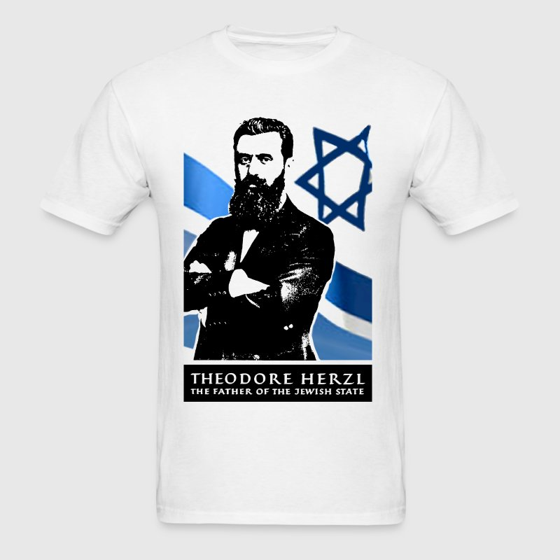 Theodor Herzl Jewish founder of State of Israel - Men's T-Shirt