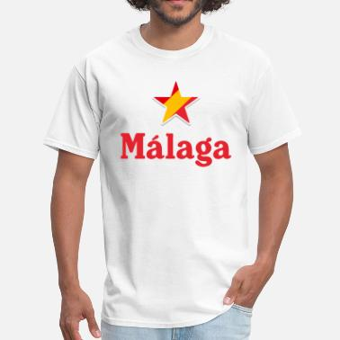 Malaga Spain Stars of Spain - Malaga - Men's T-Shirt