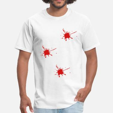Gunshot Wound Triple gunshot - Men's T-Shirt