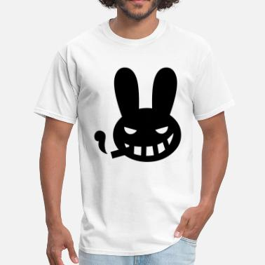 Smoking Rabbit halloween smoking rabbit - Men's T-Shirt