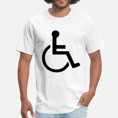 Handicap handicapped sign - Men's T-Shirt