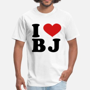Bj I Love BJ - Men's T-Shirt