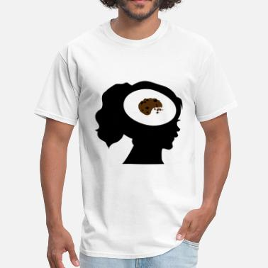 Cookies And Cream Only Cookies On My Mind; Me Want Cookies - Men's T-Shirt