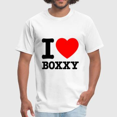 IHeartBoxxy - Men's T-Shirt