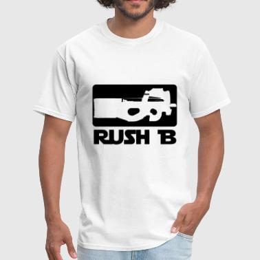 P90 CS GO shirt. Rush B - Men's T-Shirt